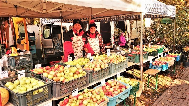 Eesti õuna hind ja müük õunafestivalil