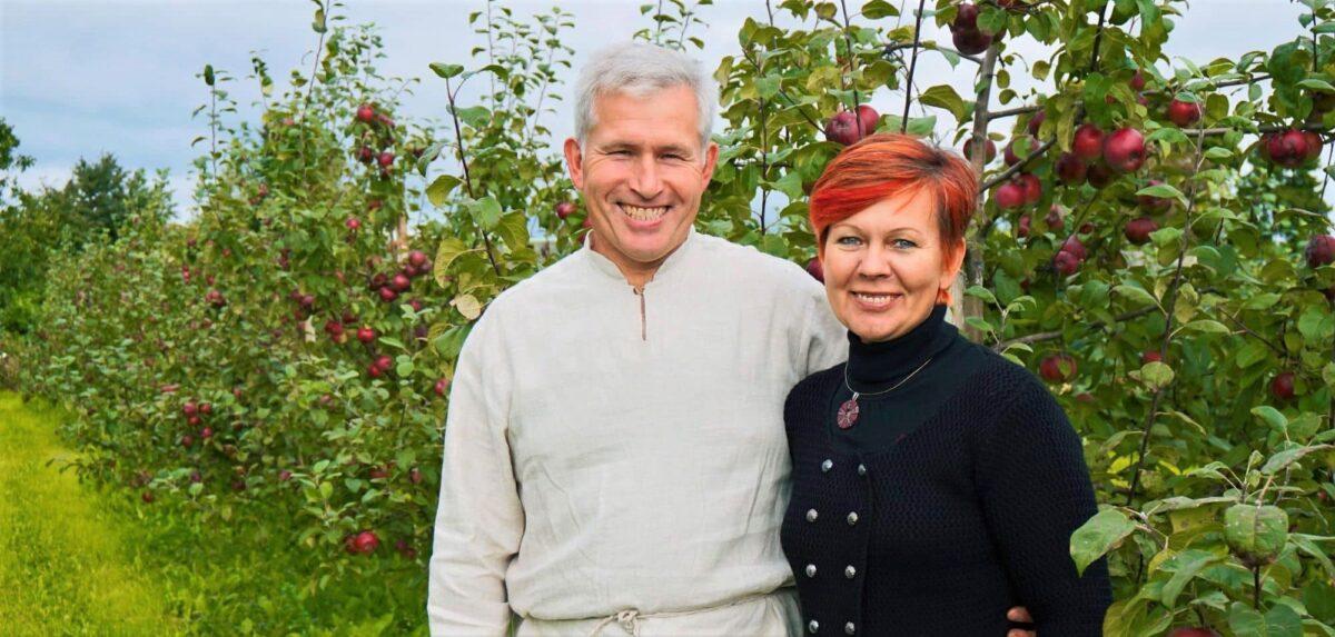 Eesti õun kasvab Rebase talus