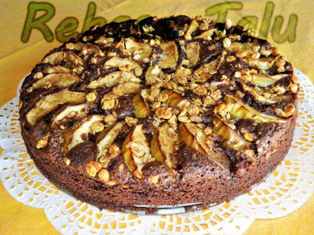 Šokolaadi-õunakook